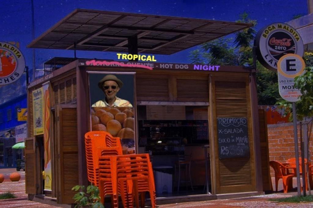 Tropical Hot Dog Night